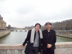 Paris 2013 con Javier Couto b
