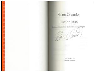 Noam Chomsky Ilusionistas Majfud 15