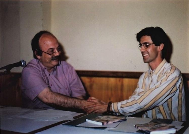 Mattos y Majfud en Presentación libro Memorias de un desaparecido Tbó 1996